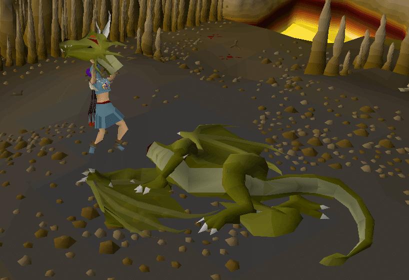 Runescape Dragon Slayer