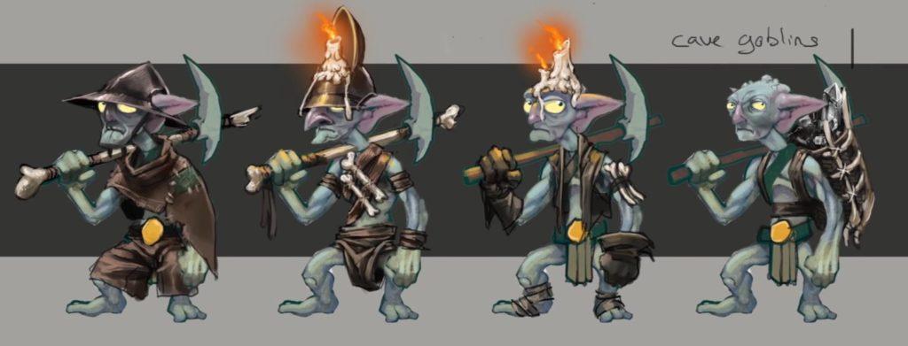 Runescape Goblin Concept Art