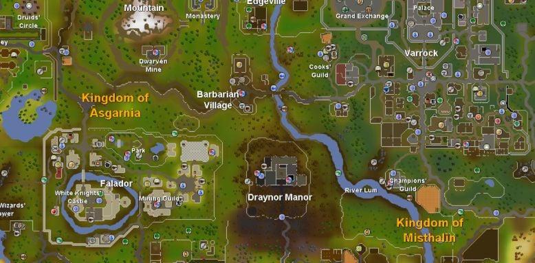 Runescape Map