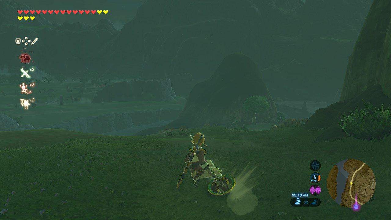 Zelda Shield Surfing