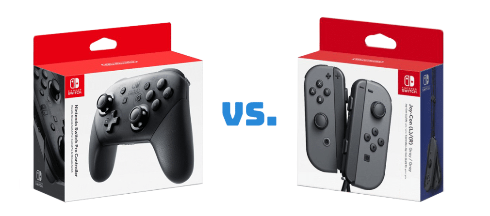 """The """"Pros"""" and """"Cons"""" of Switch Controllers: Joy-con vs. Pro Controller"""