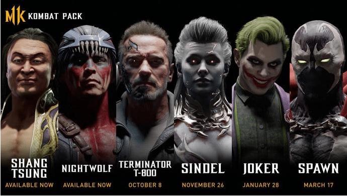 Gamescom 2019 – Mortal Kombat 11 DLC Fighters Announced