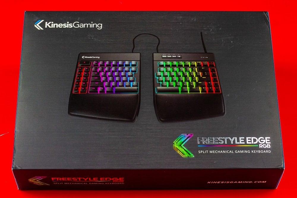 Kinesis Freestyle Edge RGB Keyboard Review