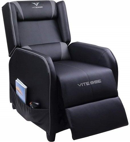 Vitesse Gaming Recliner Chair Racing Style Single Ergonomic Lounge