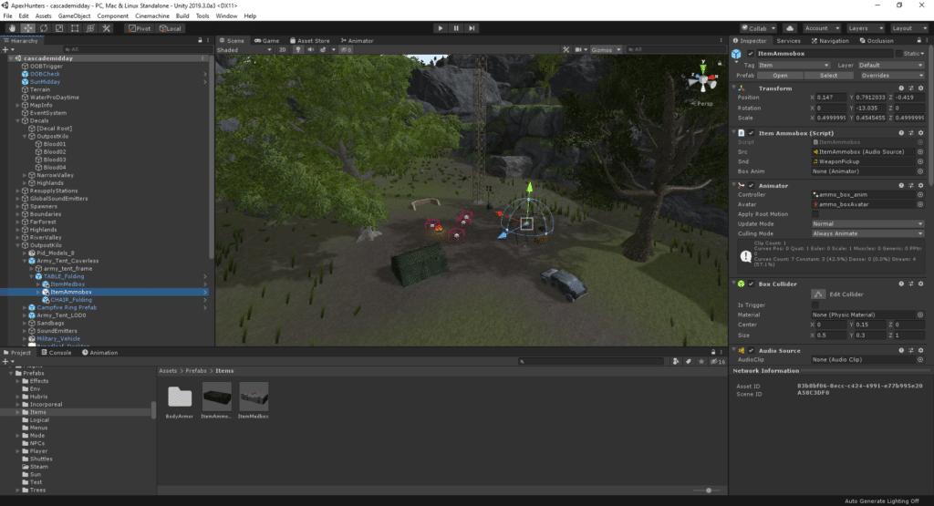 A screenshot of the Unity Editor