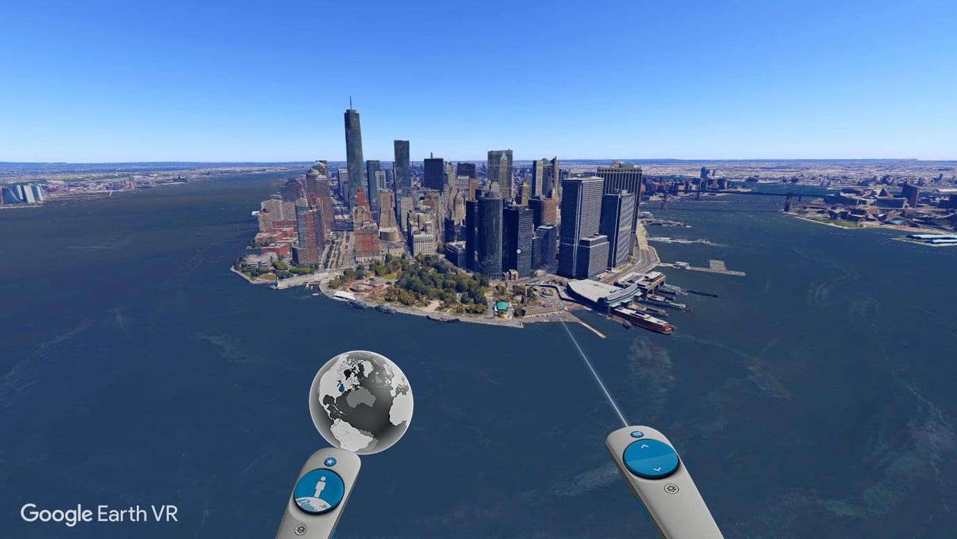 Manhattan in Google Earth VR