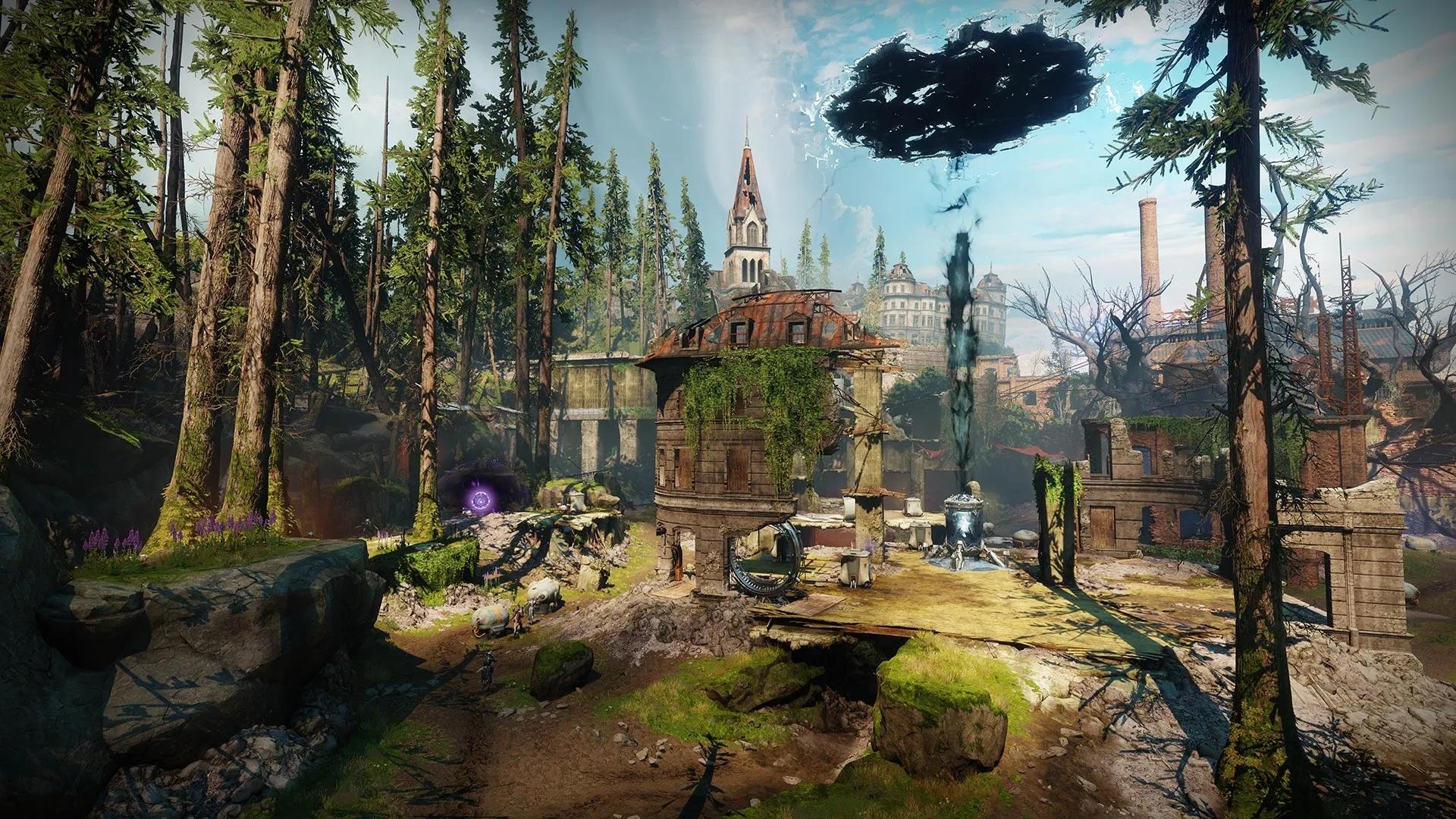 A screenshot from Destiny 2