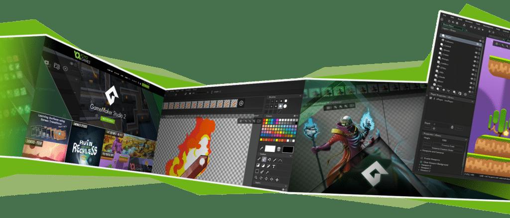 GameMaker Studio 2 Showcase Strip