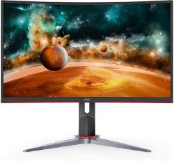 AOC CQ27G2 27 Super Curved Frameless Gaming Monitor