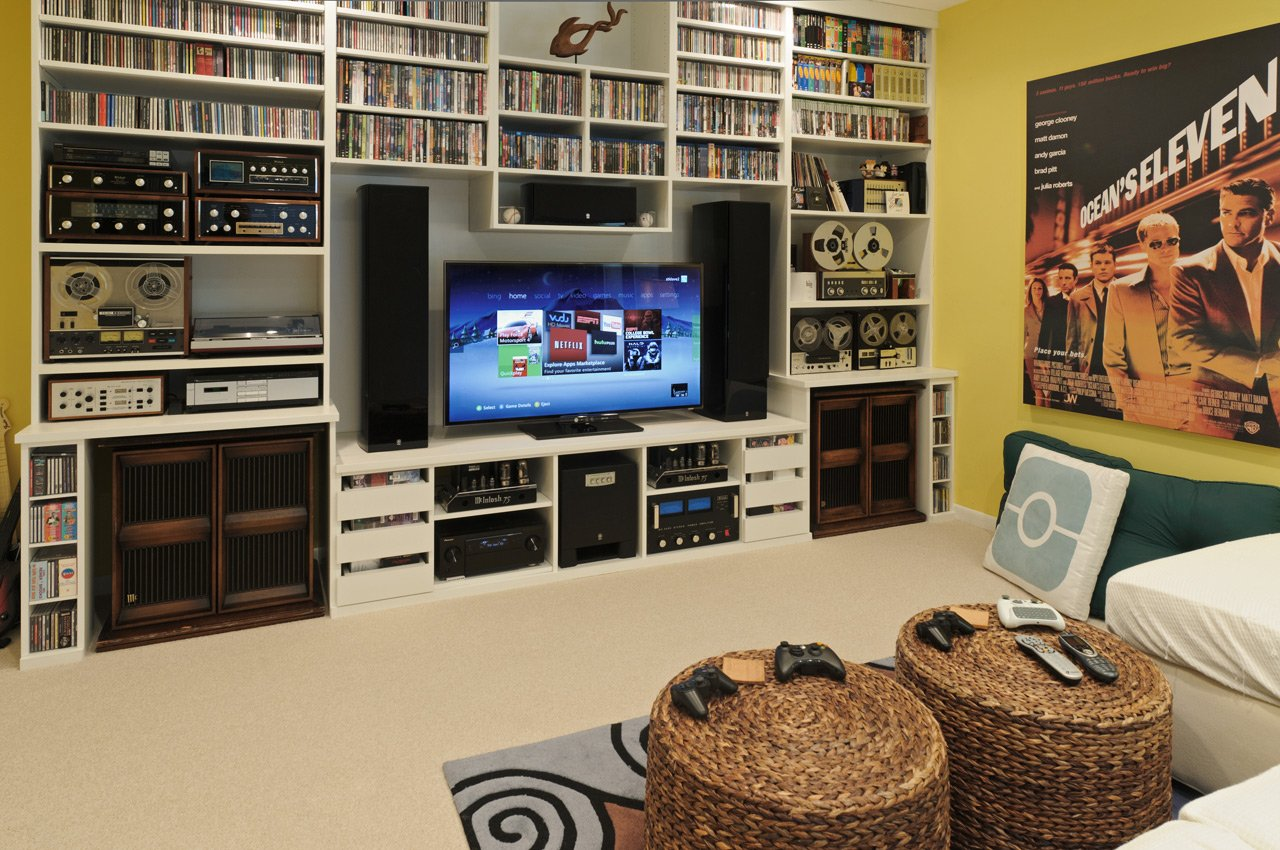 Cool Game Room - Gaming Room Setup Ideas