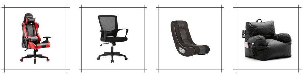 Types of Cheap Gaming Chairs