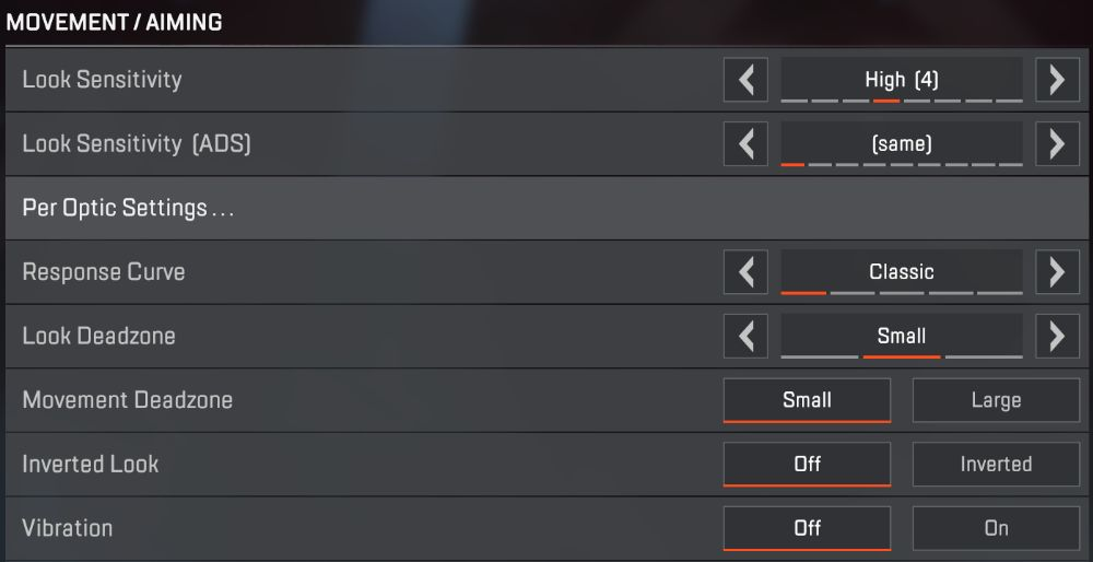 Apex Legends Controller Settings 2
