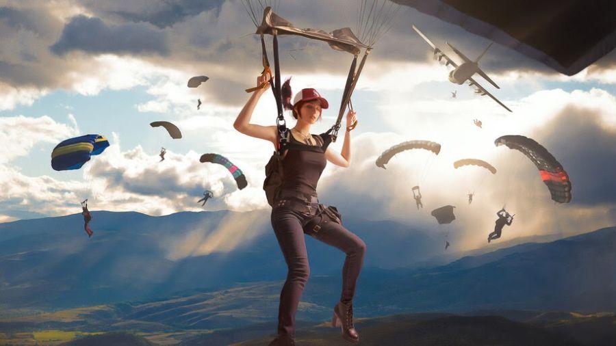 PUBG Parachute