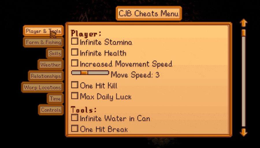 CJB Cheats