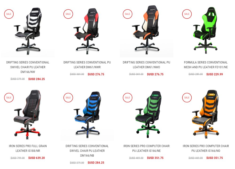Gaming Chair Options