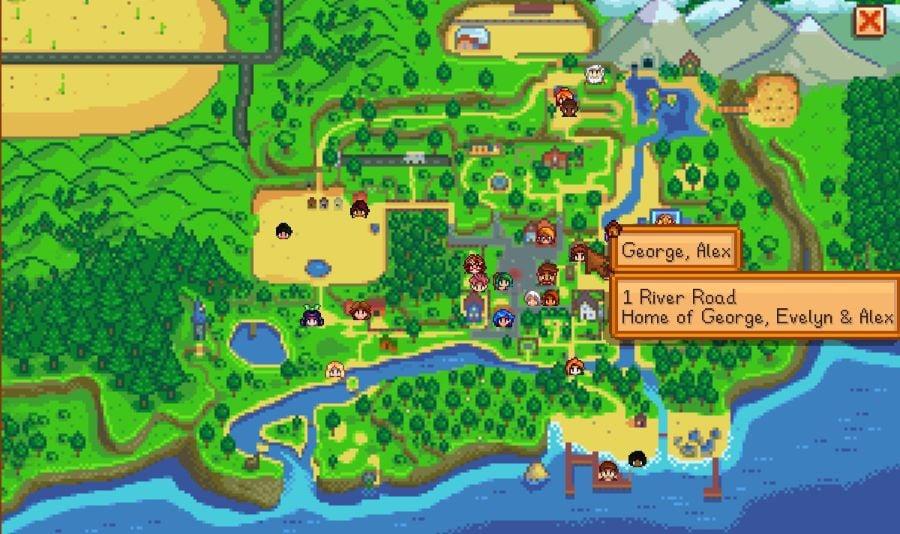 NPC Map Locations