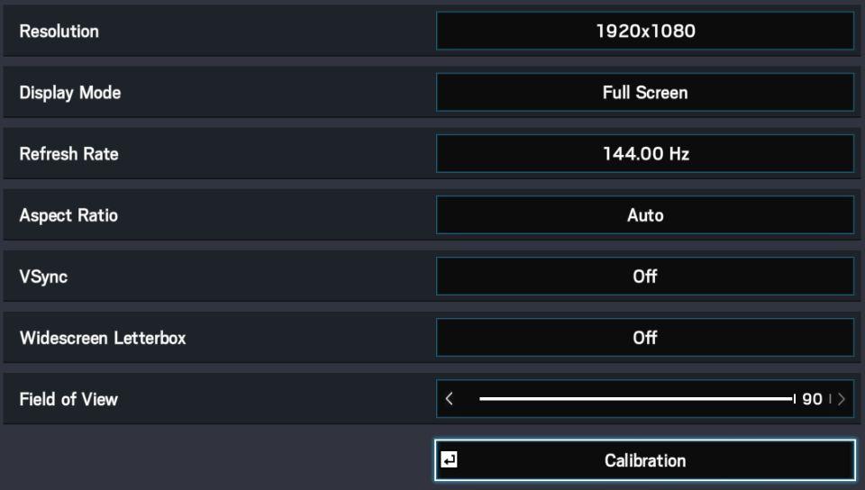 RSS Display Settings