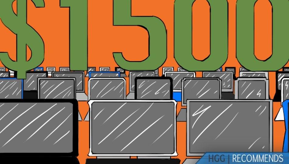 15 Best Gaming Laptops Under $1500 in 2021