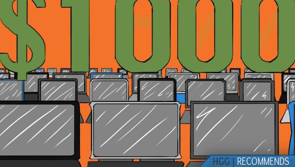 15 Best Gaming Laptops Under $1000 of 2020