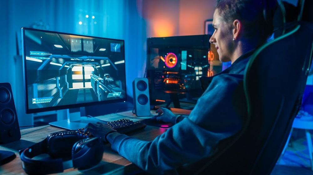 Create an ergonomic gaming setup