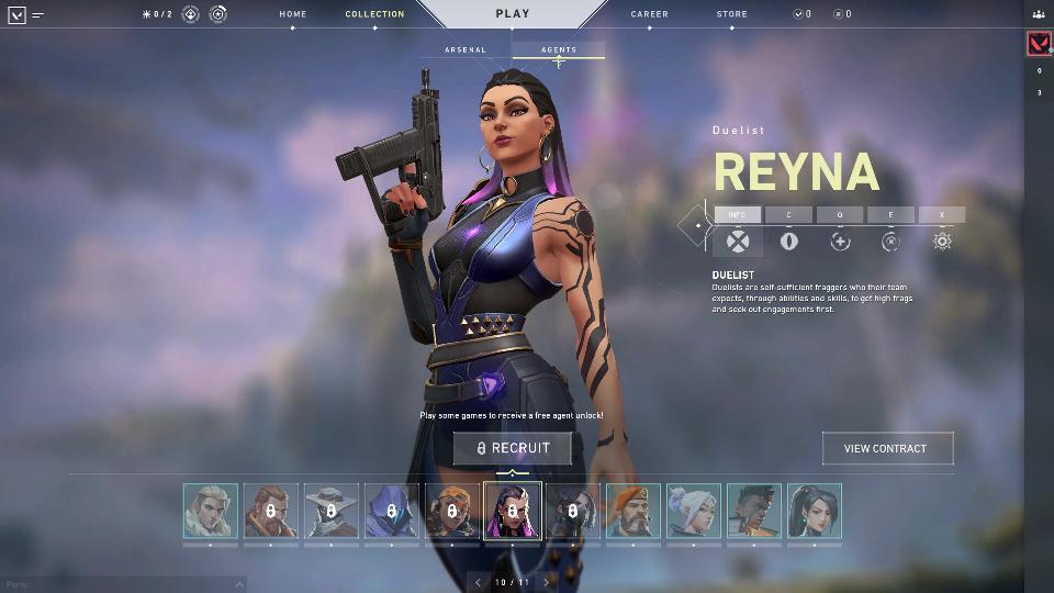 HGG Valorant New Agent Rayna