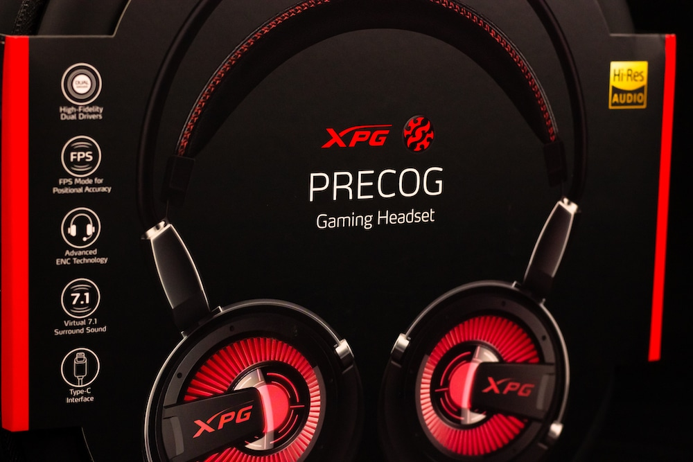 HGG XPG Precog Gaming Headset