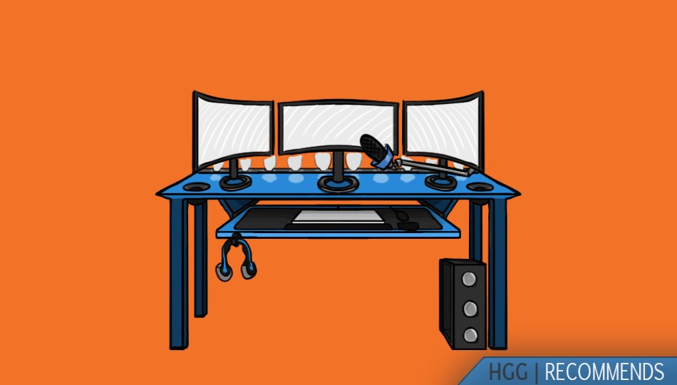Gaming Room Setup Ideas: 26 Awesome PC & Console Gamer Rooms