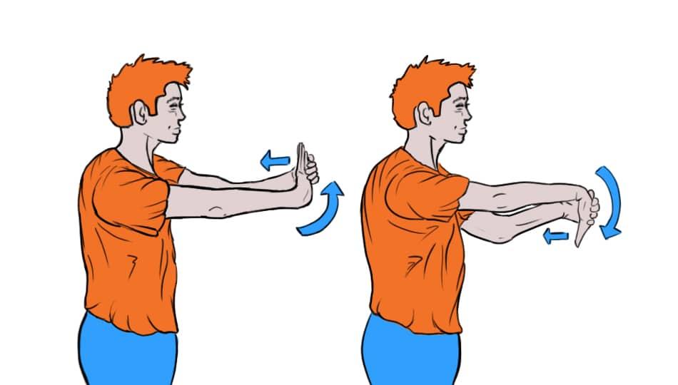 HGG Wrist Stretch