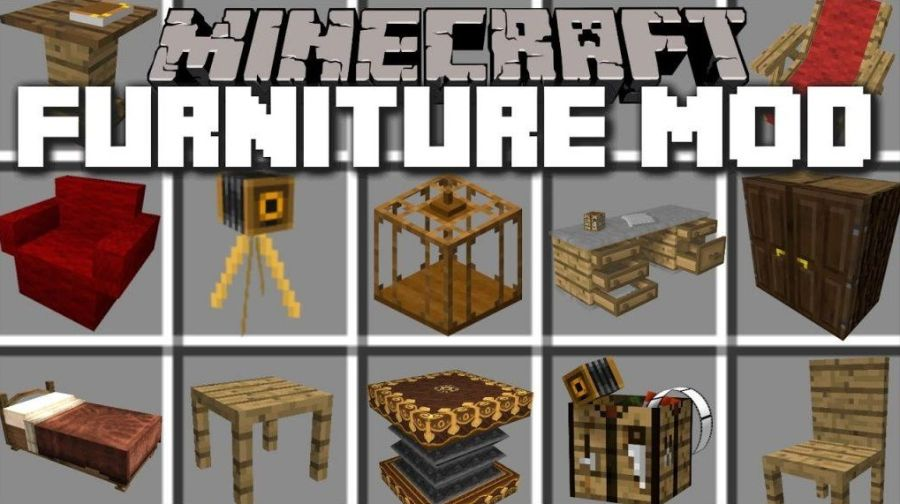 Minecraft Furniture Mods