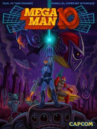 Mega Man 10 Box