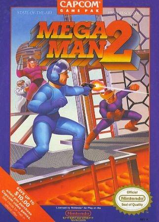 Mega Man 2 Box