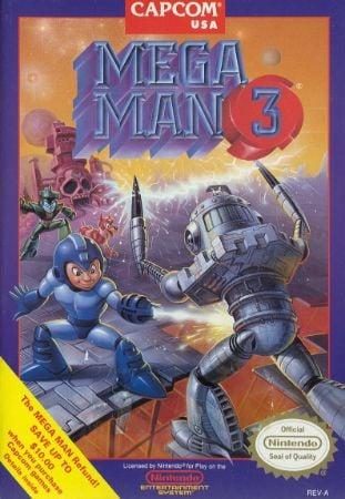 Mega Man 3 Box