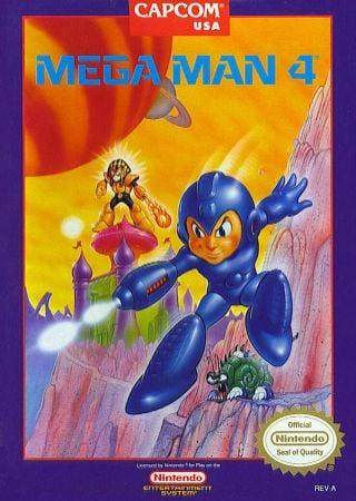 Mega Man 4 Box