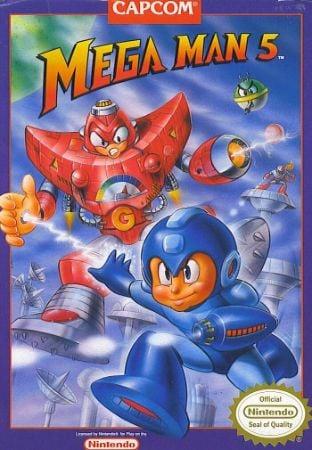Mega Man 5 Box