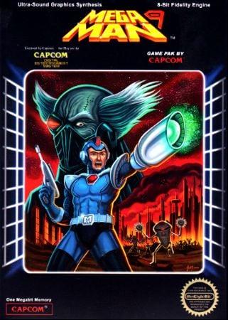 Mega Man 9 Box