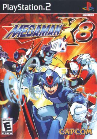 Mega Man X8 Box