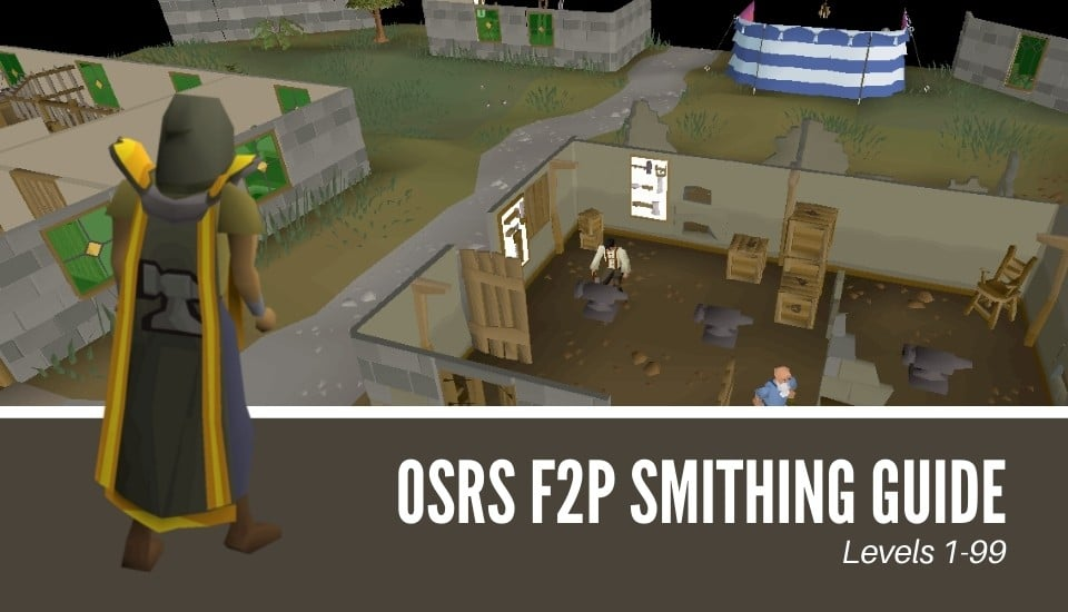 OSRS F2P Smithing Guide