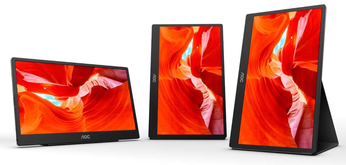 AOC Announces the 16T2 Portable Monitor