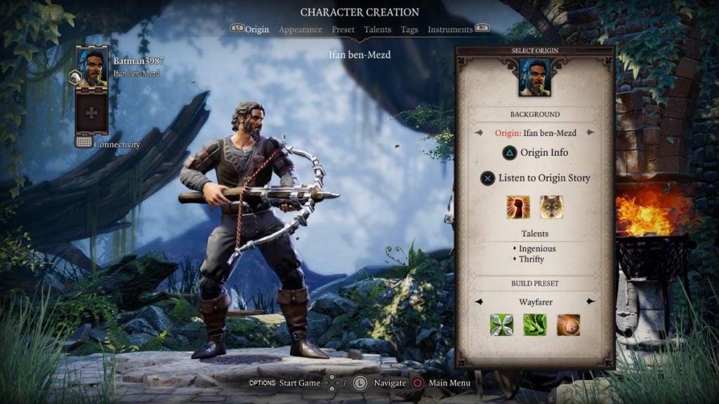 Character Class Construction