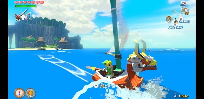 The Wind Waker HD Game