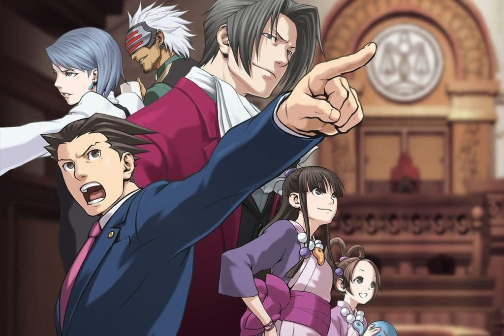 Ace Attorney Games Ranked