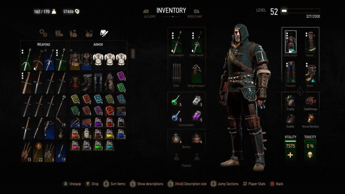 Best Witcher 3 Armor 1