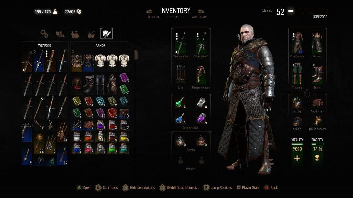 Best Witcher 3 Armor 2