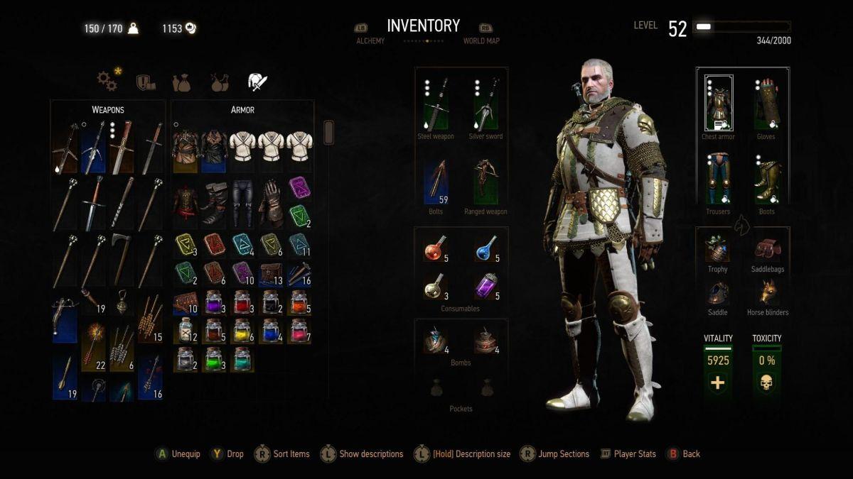 Best Witcher 3 Armor 3