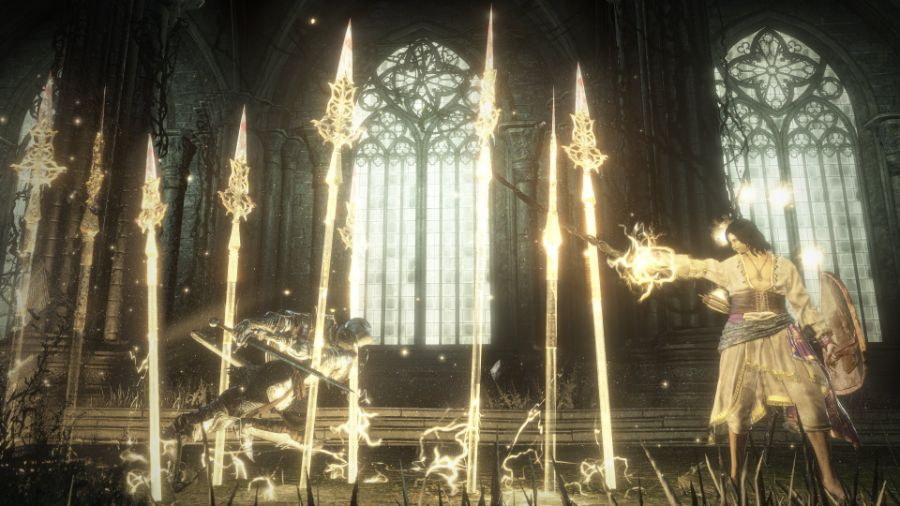 Halflight, Spear of the Church