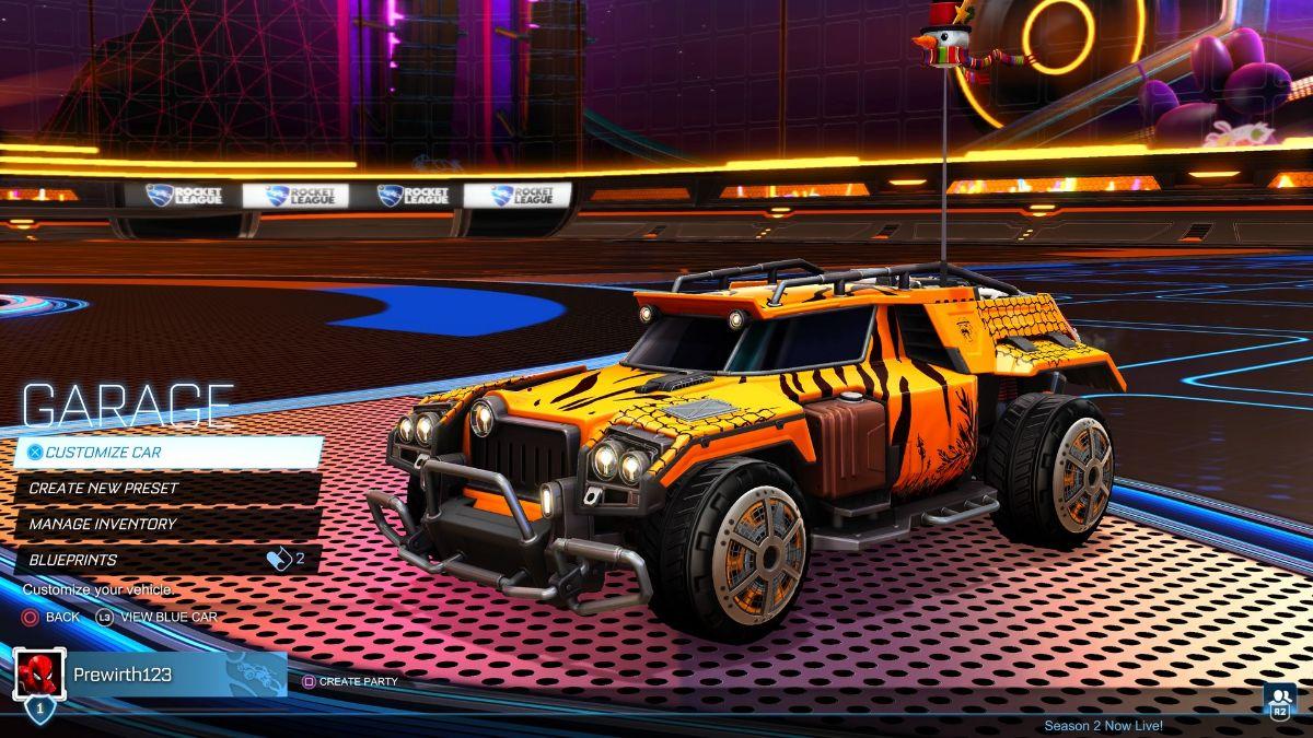Marauder Car