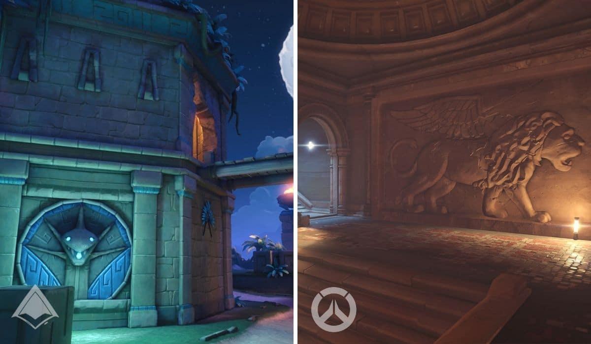 Overwatch vs Paladins Maps