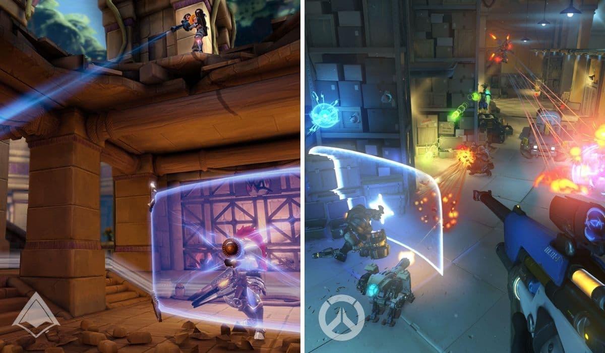 Paladins vs Overwatch Gameplay