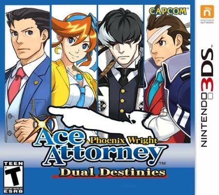 Phoenix Wright Ace Attorney — Dual Destinies