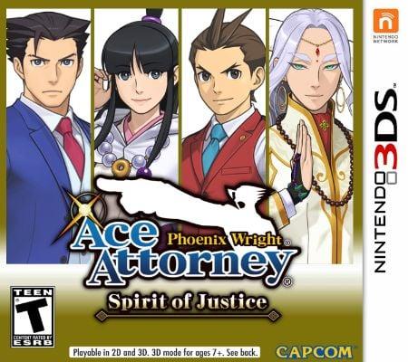 Phoenix Wright Ace Attorney — Spirit of Justice